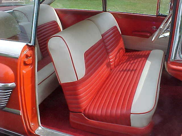 1956 Mercury Montclair Interior Mercury Automobile