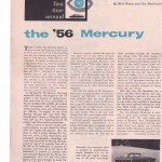 '56 Mercury First Time Around Pg 1