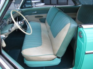 1954 Sun Valley interior