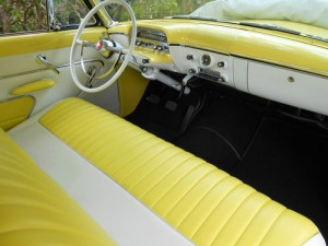 1954 Mercury interior