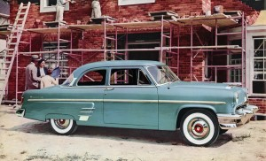 1954 Mercury Custom Sedan