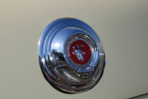 1952 Mercury Trunk Lock and Badge