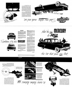 Meet the New 1952 Mercury Pg 1