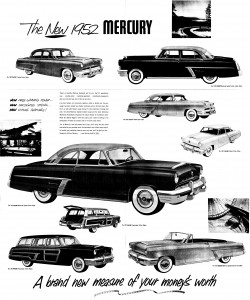 Meet the New 1952 Mercury Pg 3