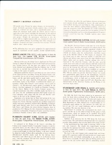 Consumer Reports April 1961 Auto Buying Guide Pg 3