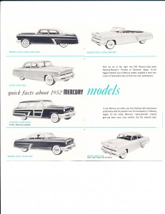 Quick Facts About the New 1952 Mercury Pg 3