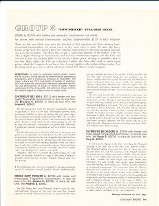 Consumer Reports April 1961  Auto Buying Gui4de Pg 8