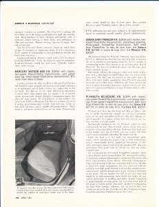 Consumer Reports April 1961  Auto Buying Gui4de Pg 11