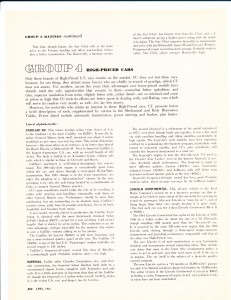 Consumer Reports April 1961  Auto Buying Gui4de Pg 14
