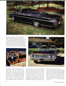 "Collectible Automobile February 2000 ""1961 - 64 Mercury: Downwardly Mobile"" Pg 3"