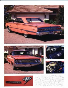 "Collectible Automobile February 2000 ""1961 - 64 Mercury: Downwardly Mobile"" Pg 10"