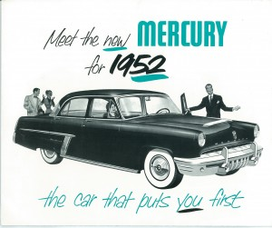 The New Mercury for 1952 Pg 1