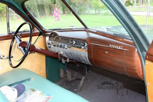 1950 Mercury Station Wagon Dash