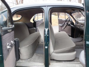 1950 Mercury Sport Sedan interior