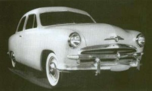 The final Walker Design for the 1949 Ford