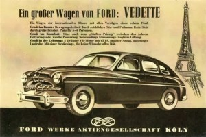 1949 Ford Vedette