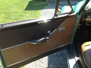 1950 Mercury Door Panel