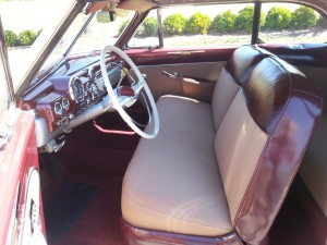 1949 Mercury Convertible interior