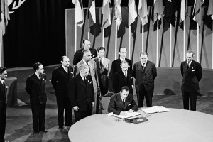 Signing of UN Charter