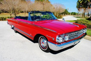 1963 Mercury Monterey Custom convertible