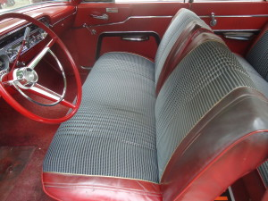 1963 Mercury Meteor interior