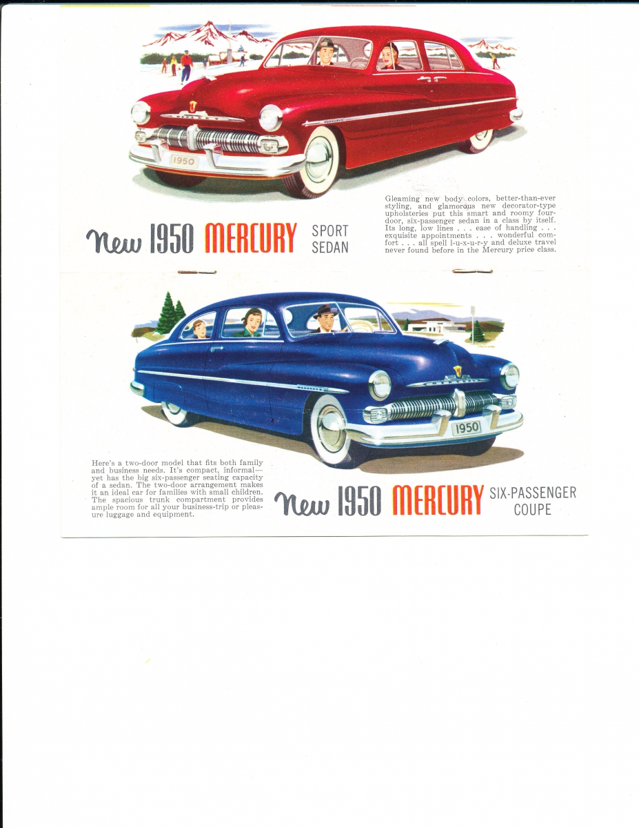 Quick Facts About the Better Than Ever 1950 Mercury | Mercury ...