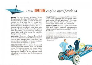 1950 Mercury Engine-11