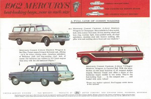 1962 Mercury Comet Custom Villager Station Wagon 02
