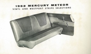 1962 Mercury Meteor Upholstery Selections 02