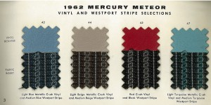 1962 Mercury Meteor Upholstery Selections 03