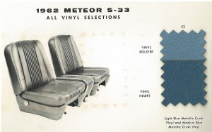 1962 Mercury Meteor Upholstery Selections 08