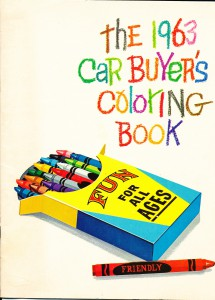 1963 Car Buyers Coloring Book_0002