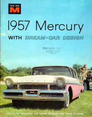 1957 Mercury Brochure Cover