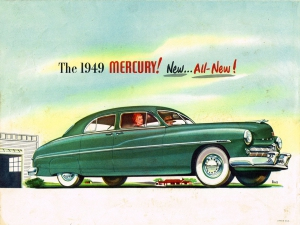 All New 1949 Mercury 6